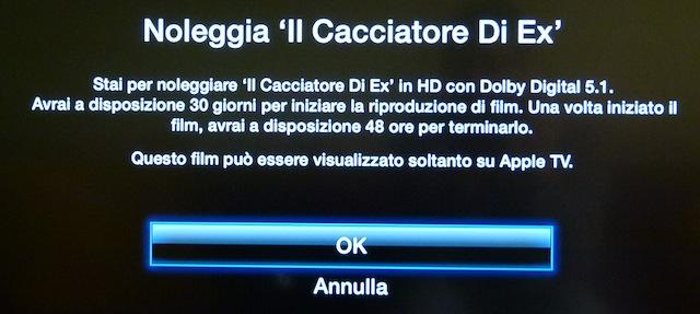Noleggio Apple TV 2G