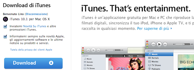 iTunes 10.1