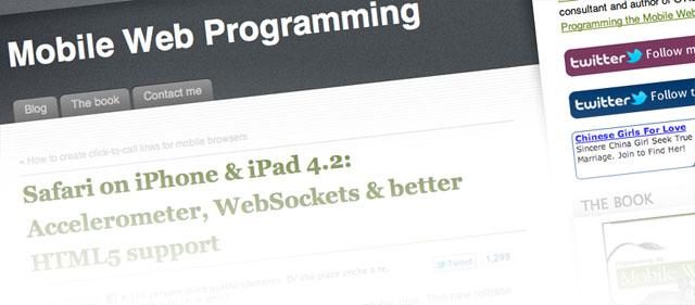 mobilewebprogramming