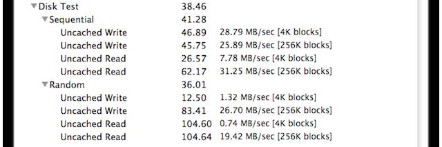 Xbench Lacie Grand 1TB