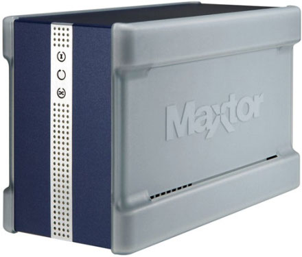 maxtor shared storage