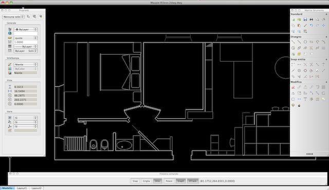 Draftsight il cad 2d gratuito per mac che apre i dwg for Programma per disegno tecnico gratis italiano