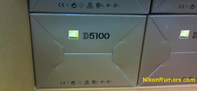 nikon d5100 box Nikon D5100 incoming?