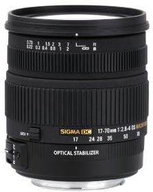 2,8-4,0 DC MACRO OS HSM Obiettivo per Nikon