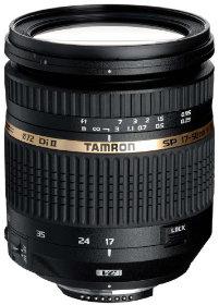 Tamron SP AF 17-50mm 2,8 Di II VC (Stabilizzatore di immagine) Obiettivo digitale per  Nikon