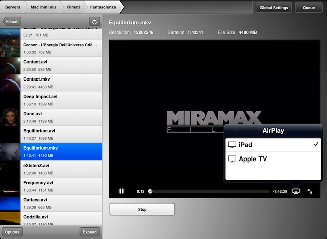 airvideo airplay video