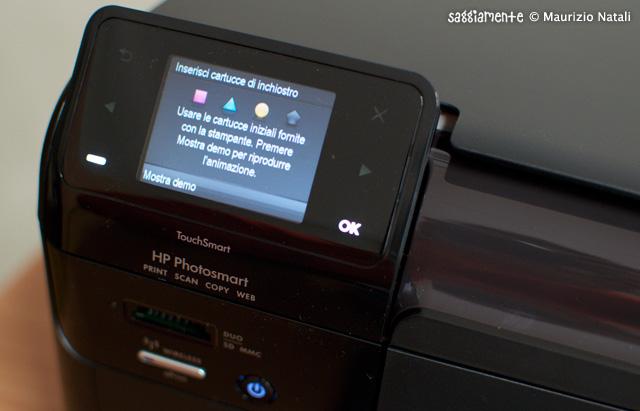 hp-b110a-schermo