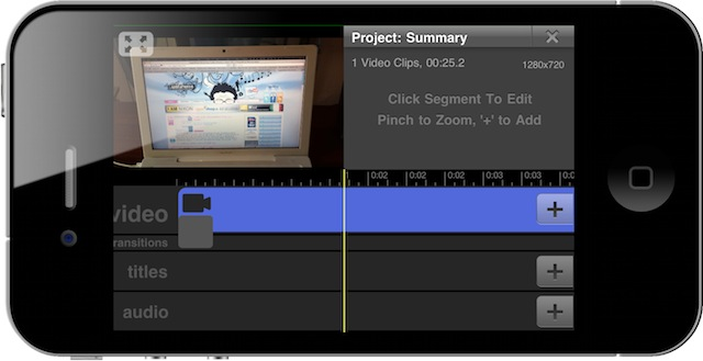 Vimeo: editing