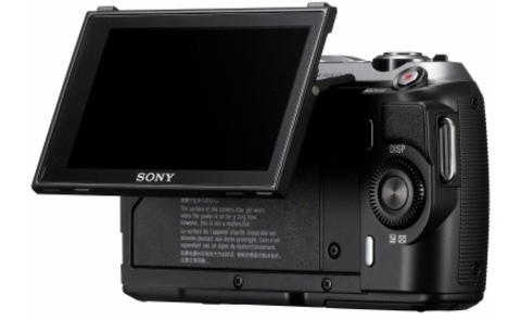 Rear View of the Sony NEX-C5