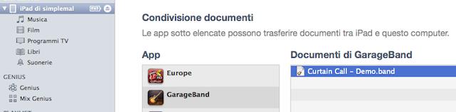 condivisione documenti
