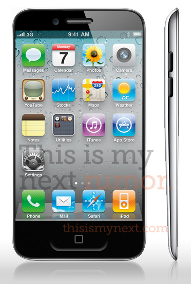 3,7 inch screen iPhone 5