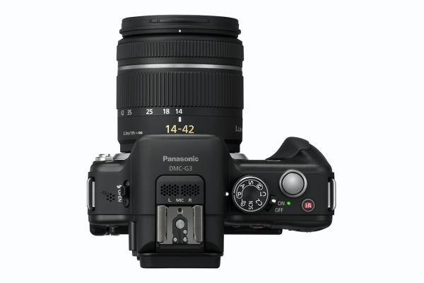 Panasonic G3 top