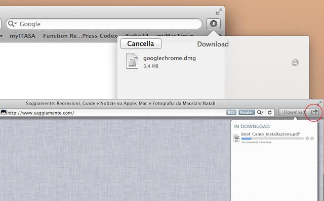 finestra download