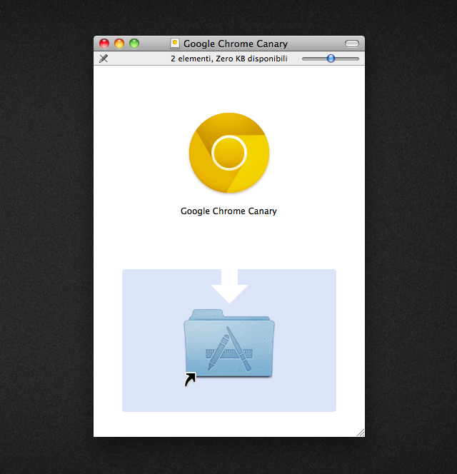 Google Chrome Canary logo