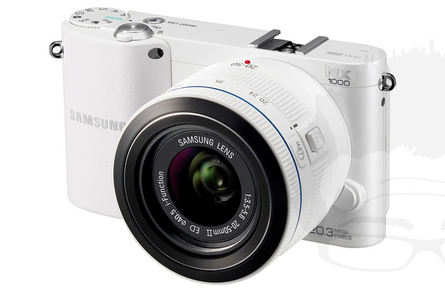 Samsung-NX1000-bianca