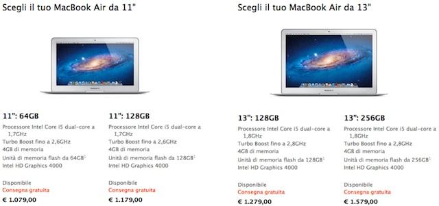 macbookair-prezzi