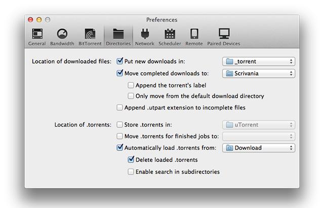 utorrent-prefereces