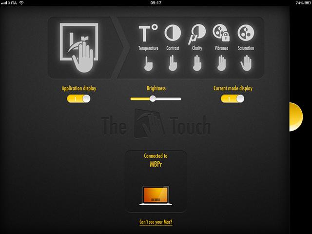 thetouchpad