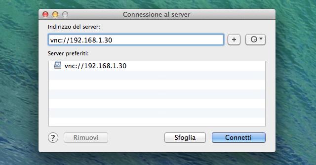 connessione-server