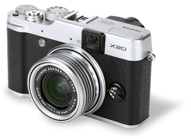 Fujifilm-X20-front
