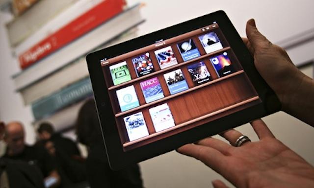 iPad with the iTunes U app