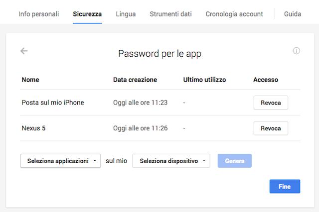 password-per-le-app