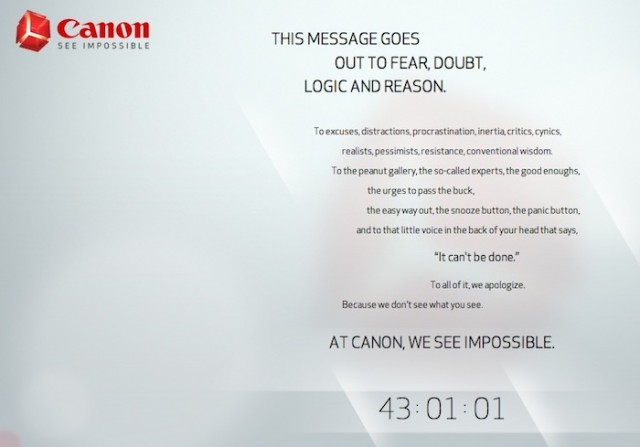 Canon-Impossible-Teaser