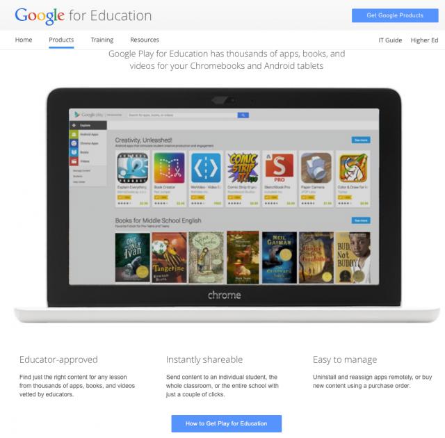 google-play-education
