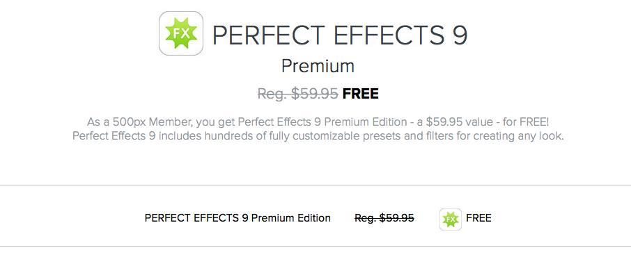 Scarichiamo gratuitamente Perfect Effects 9 Premium Edition • SaggiaMente