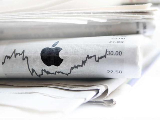 Apple-Stock-dowjones