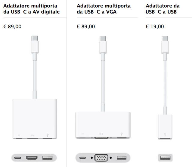 Adattatori USB-C