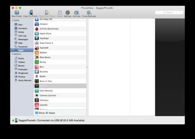 iOS 8.3 - sandbox bloccata