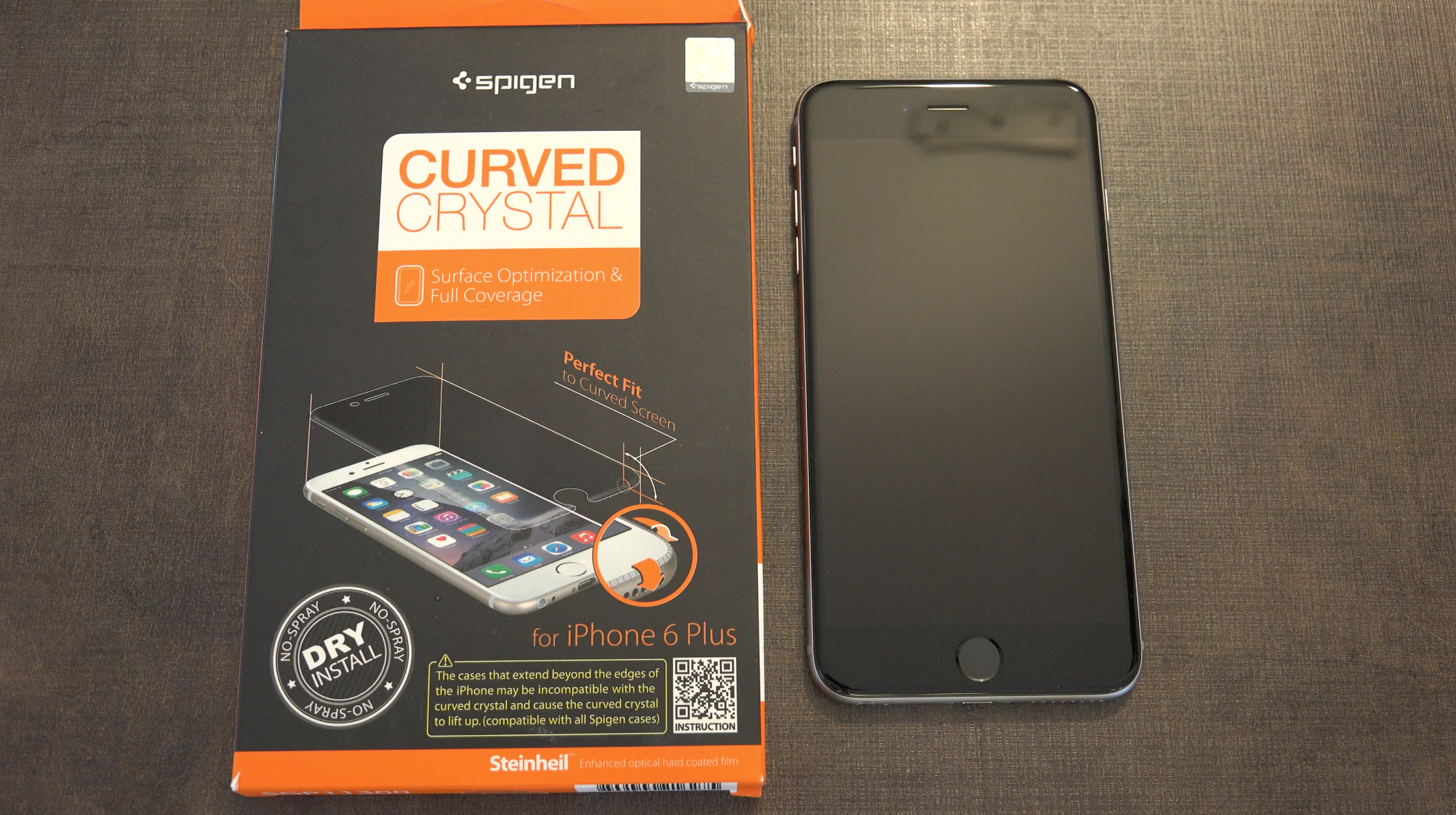 buy online db36a 8de9e Recensione: Spigen Curved Crystal per iPhone 6, una vera schifezza