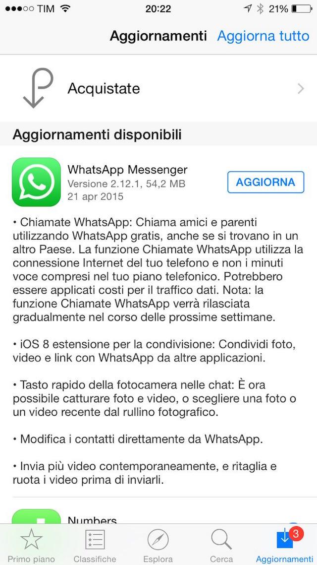 whatsappchiamateios
