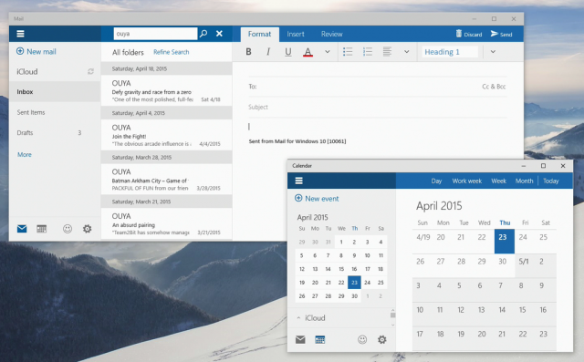 how to use icloud for windows 10 calendar