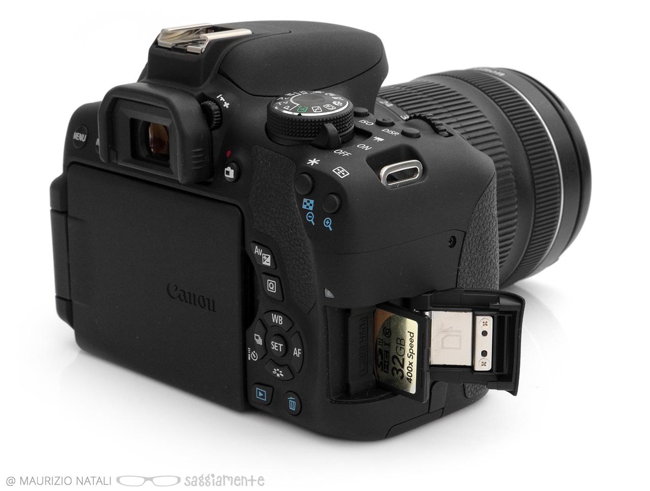 Recensione Canon 750d E 760d La Ribelle Si Sdoppia Compie Un Eos Kit Ef S18 55mm Is Stm Eos750d 750 D Memoria