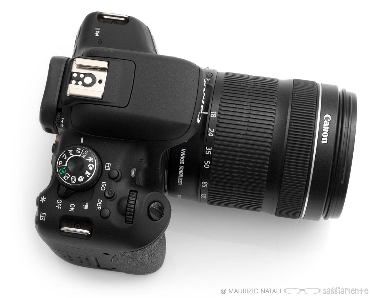 Recensione Canon 750d E 760d La Ribelle Si Sdoppia Compie Un Eos Kit Ef S18 55mm Is Stm Eos750d 750 D Top