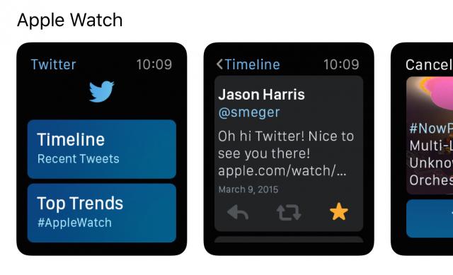apple watch views