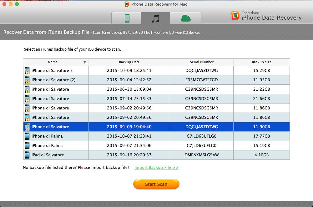 Come recuperare la password dei backup iTunes codificati ...