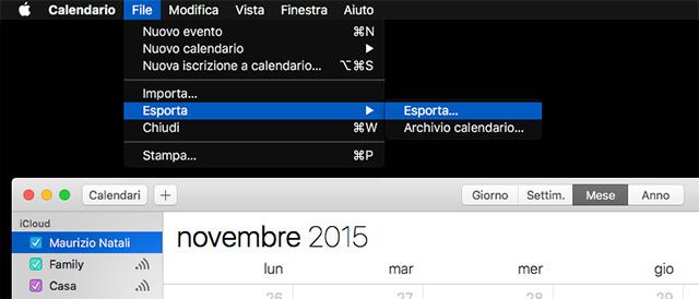 Esportare Calendario Android.Come Esportare Contatti E Calendari Da Icloud A Google Ed