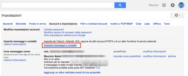 gmail-importa-contatti