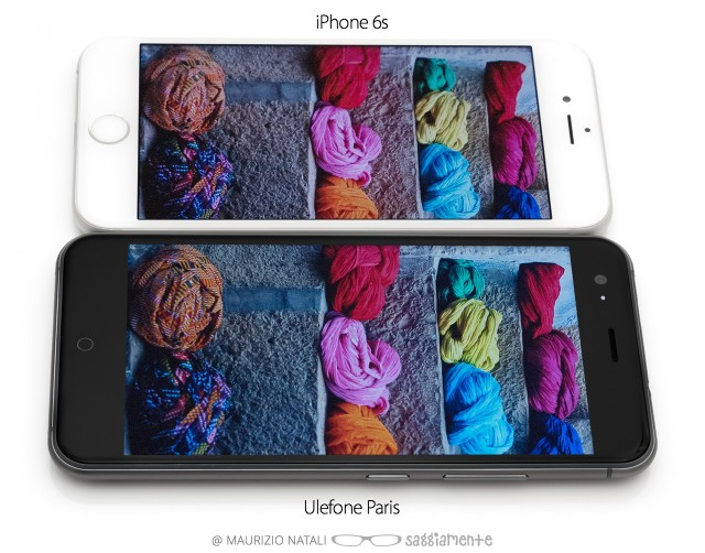 ulefone-paris-vs-ip6s-display