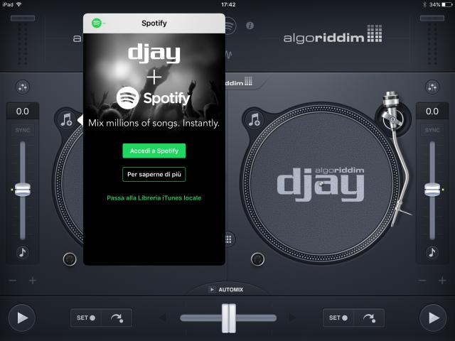 djay 2 Spotify