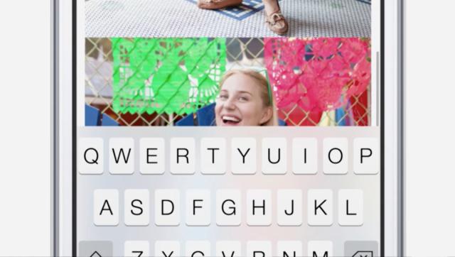 iOS-tastiera