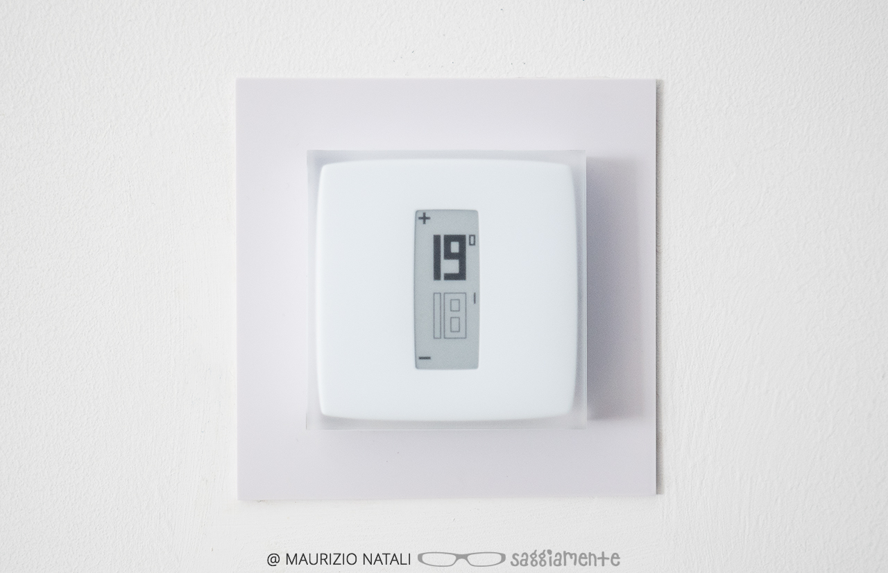 Recensione termostato intelligente netatmo saggiamente for Perry termostato wifi
