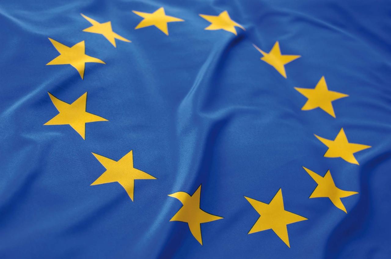 обои для рабочего стола флаг евросоюза № 389624  скачать