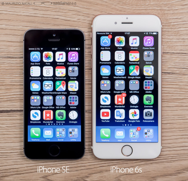 iphone-se-vs-6s