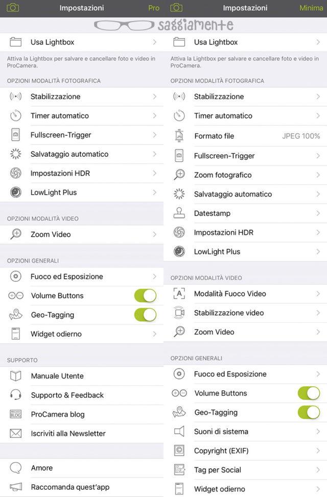 procamera-app-menu