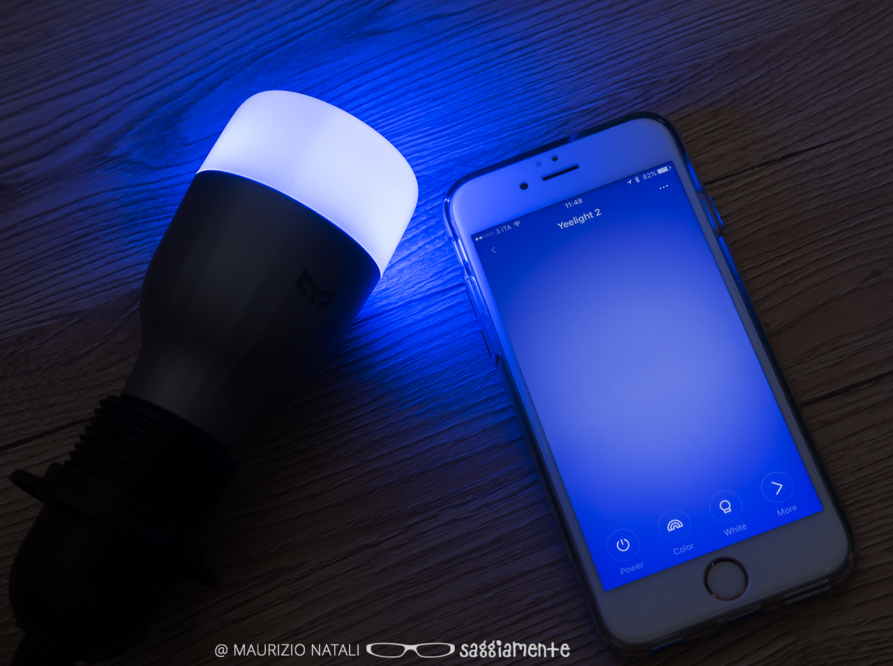 Recensione xiaomi yeelight rgbw le luci led smart colorate ed