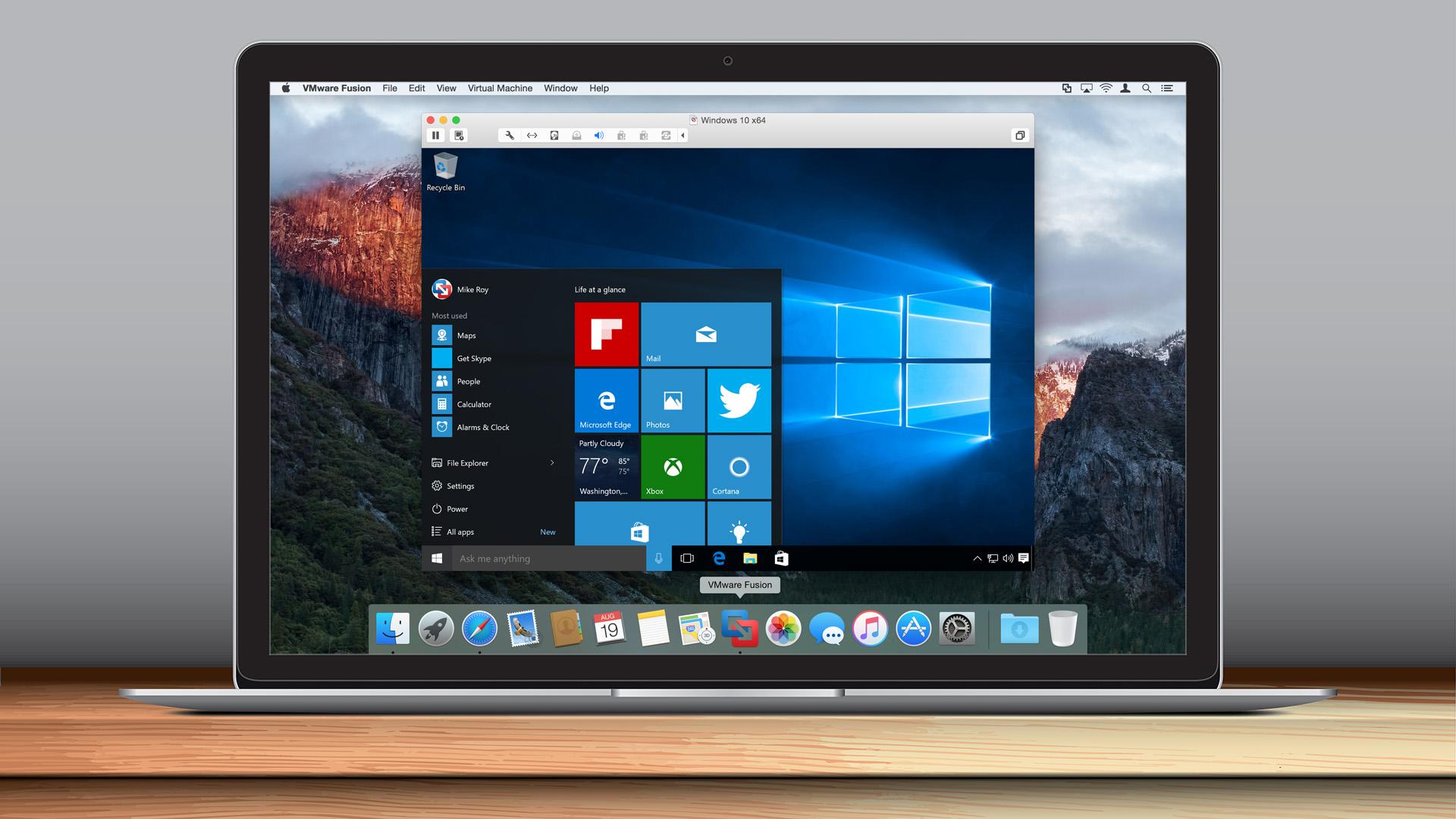 VMware annuncia il supporto di Fusion a macOS Sierra e Windows 10 Anniversary